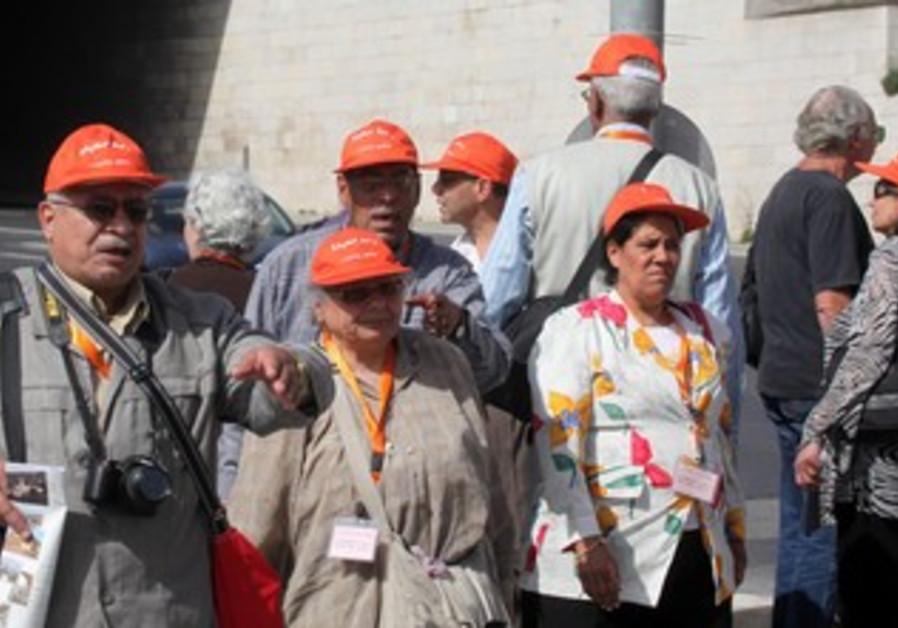 Egyptian Copts visit Jerusalem for Easter