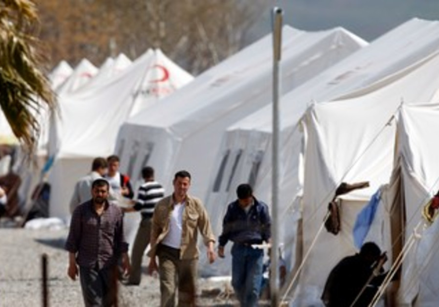 Syrian refugees: Islahiye camp in Gazintep, Turkey