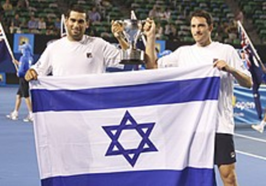 Local Tennis: Andy/Yoni finally back on court