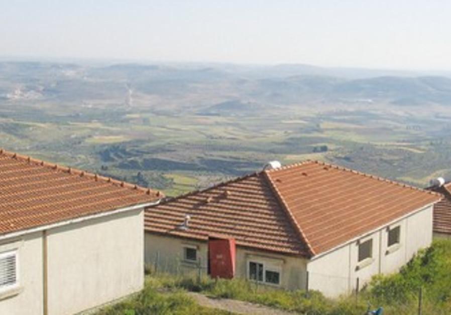 Homesh hilltop settlement was demolished in 2005