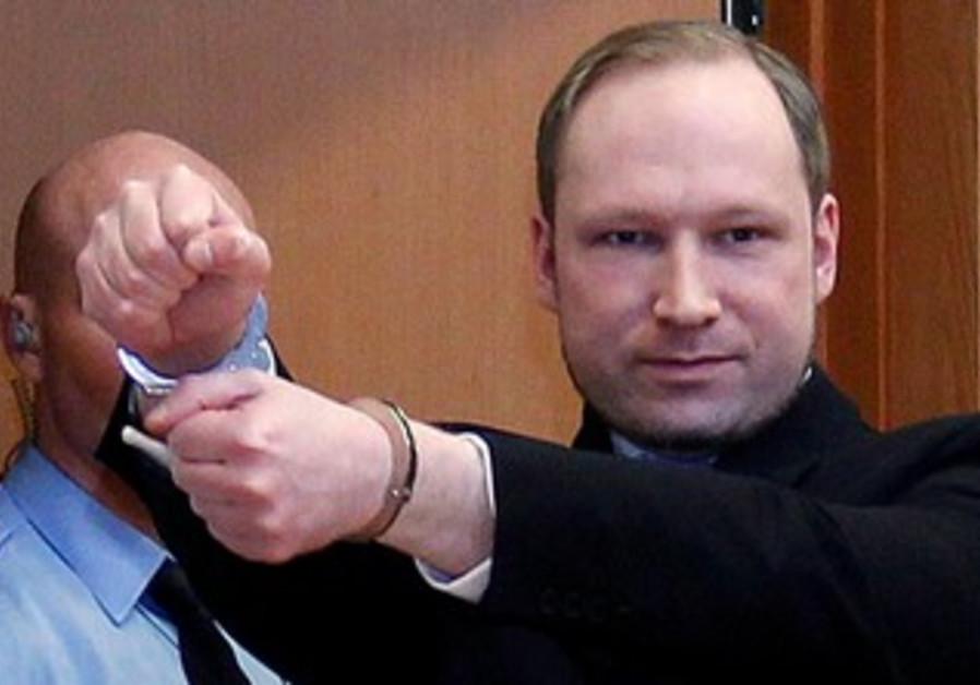 Anders Behring Breivik in court [file photo]