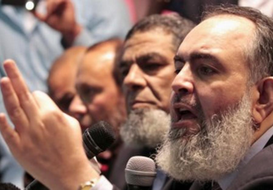 Egyptian Salafist Hazem Salah Abu Ismail.