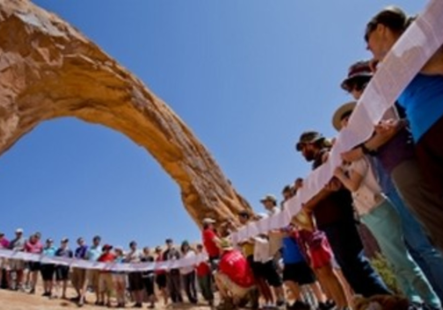 Participants in the Passover in the Desert of Moab