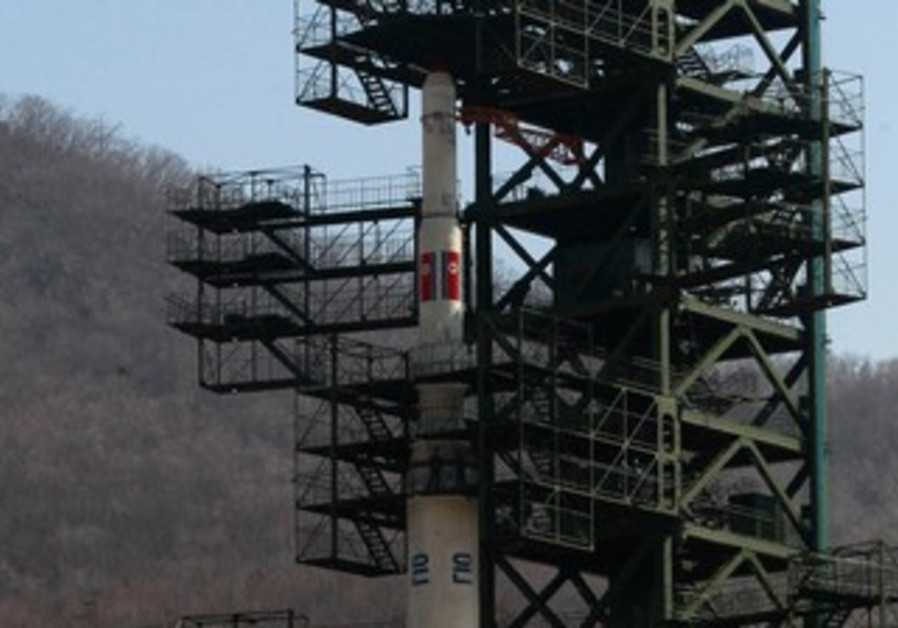 North Korean Unha-3  Rocket [file]