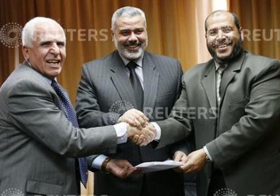 DEPUTY PALESTINIAN Prime Minister Azzam al-Ahmed (