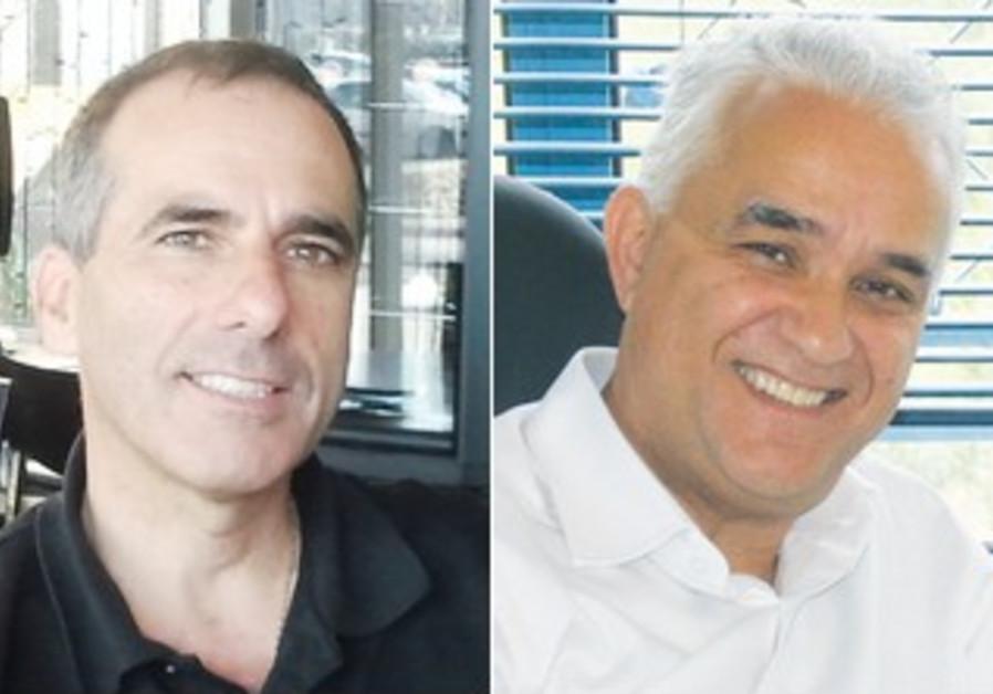 Jeff Kayne (L), Natan Golan  (R)
