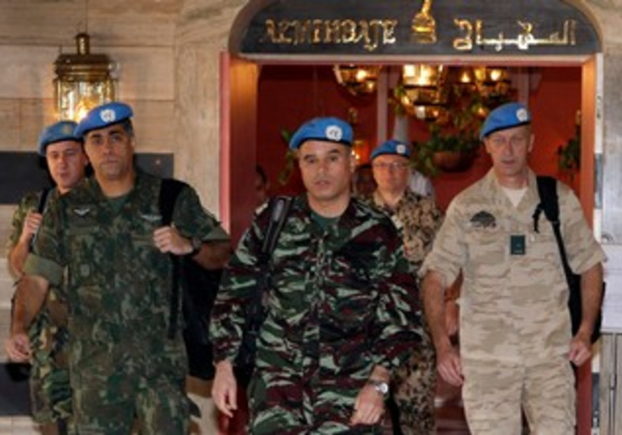 UN monitors arrive in Damascus