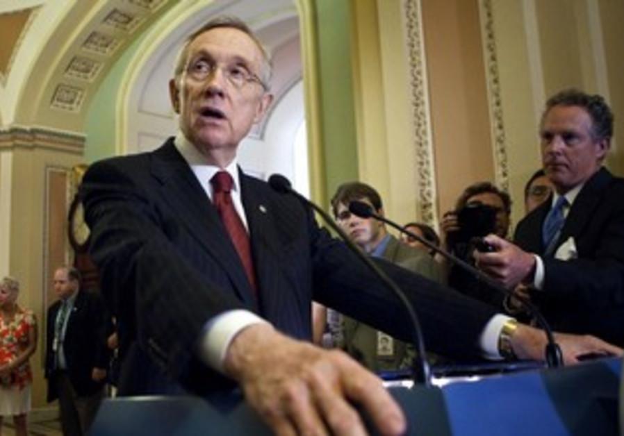 Senate Majority Leader Reid speaking in Senate