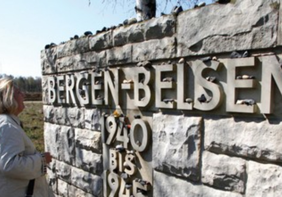 Site of Nazi concentration camp Bergen Belsen