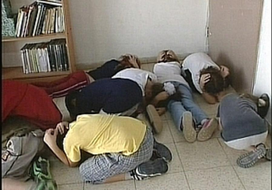 sderot children kassam drill 298.88
