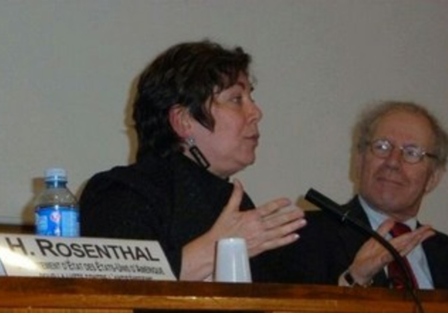 US anti-Semitism envoy Hannah Rosenthal.
