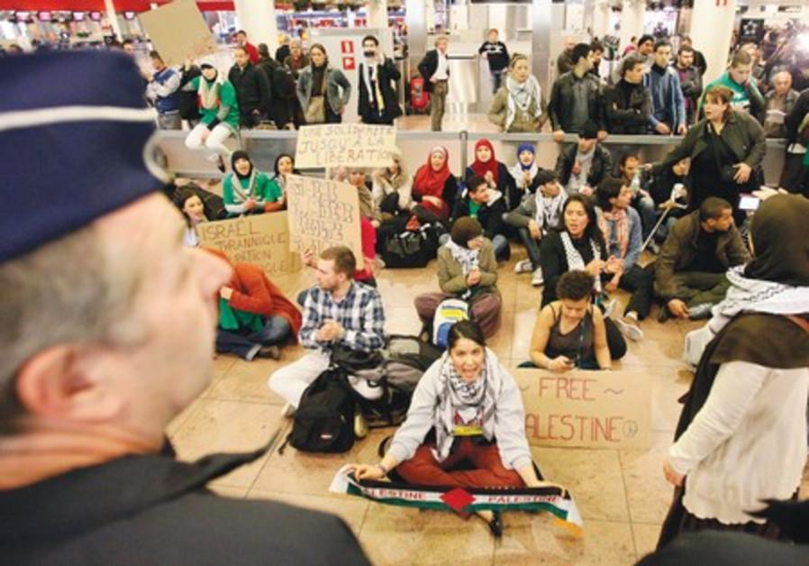 Anti-Israel activists