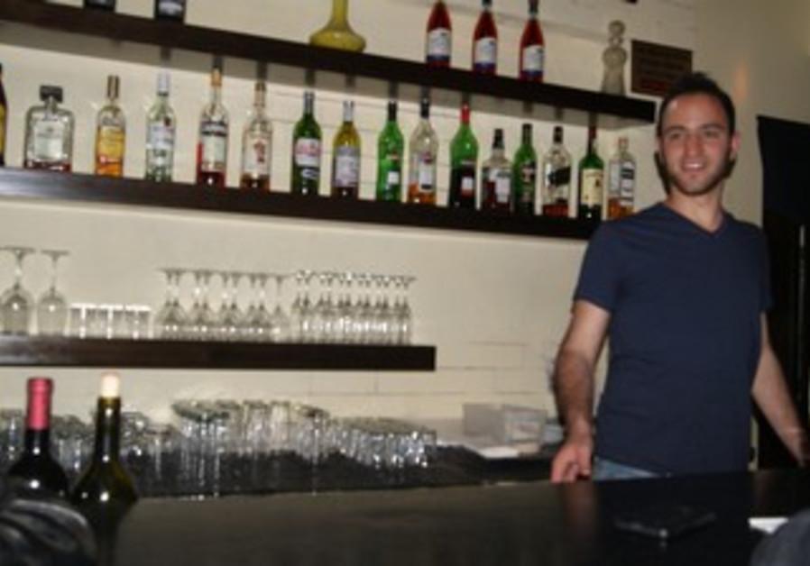 Barman at Josepha bar