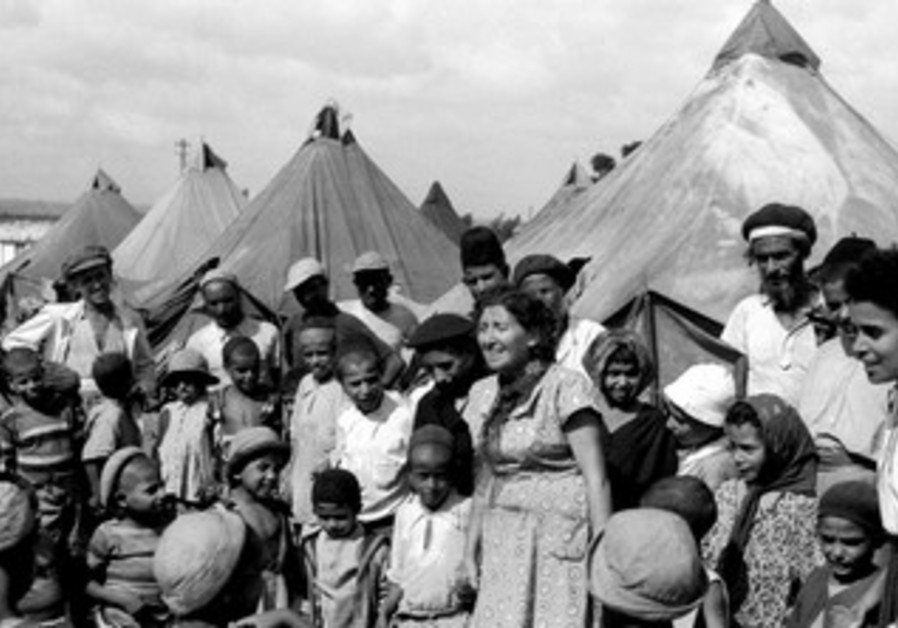 Jewish immigrants from Yemen in 1949