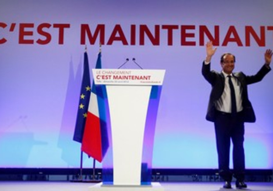 Francois Hollande, Socialist Party candidate