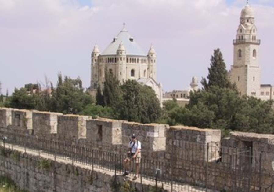 Ramparts by Dormition Abbey