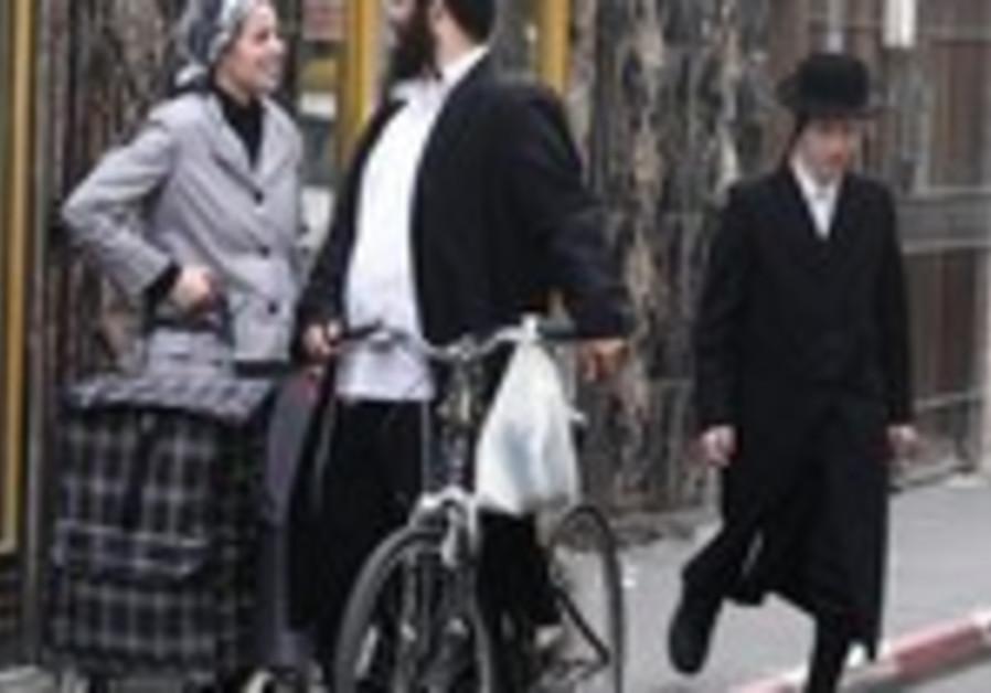 Haredim in Mea Shearim
