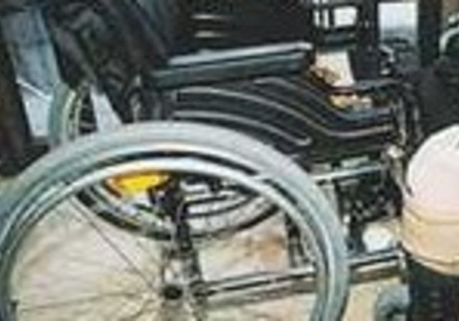 AROUND 293,000 Israelis have serious disabilities