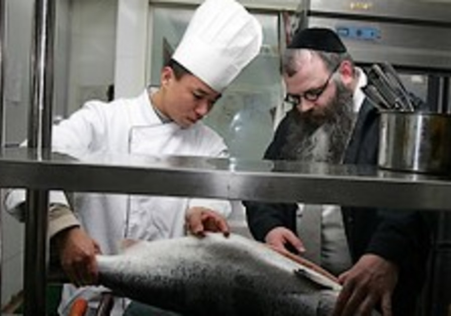 Olympic Beijing going kosher