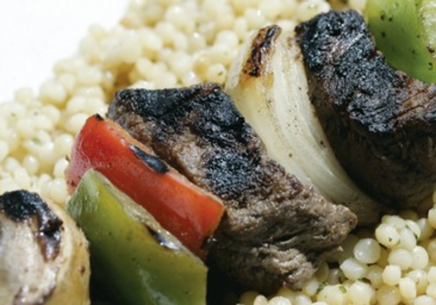 A grilled kebab