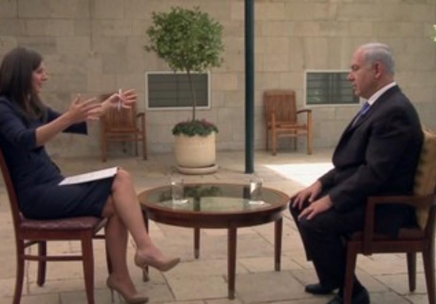 Netanyahu interview with CNN