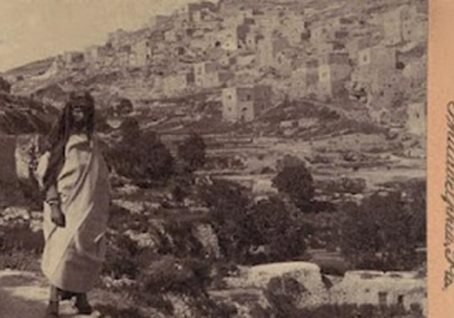 Yemenite Jew near old city walls