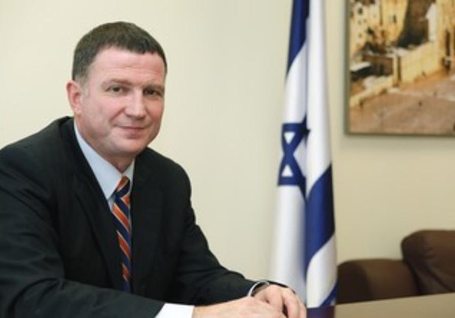 Diaspora Affairs Minister Yuli Edelstein