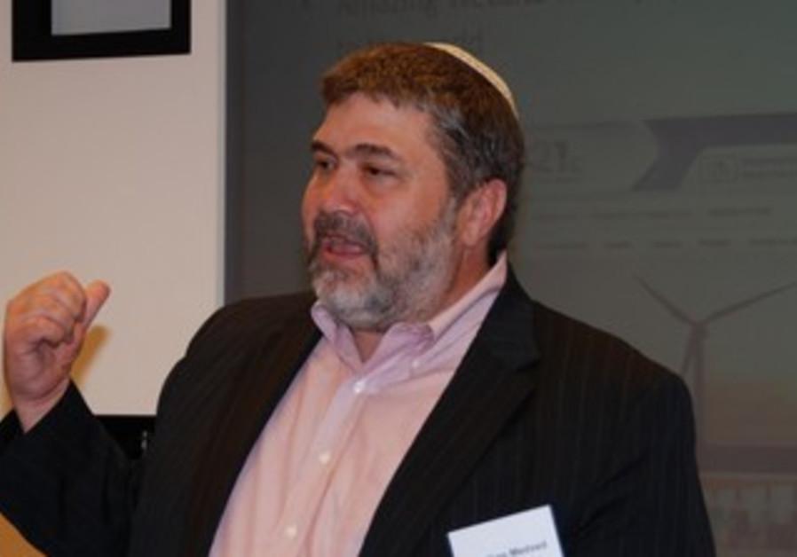 Jonathan Medved speaks at the Israel Business Foru