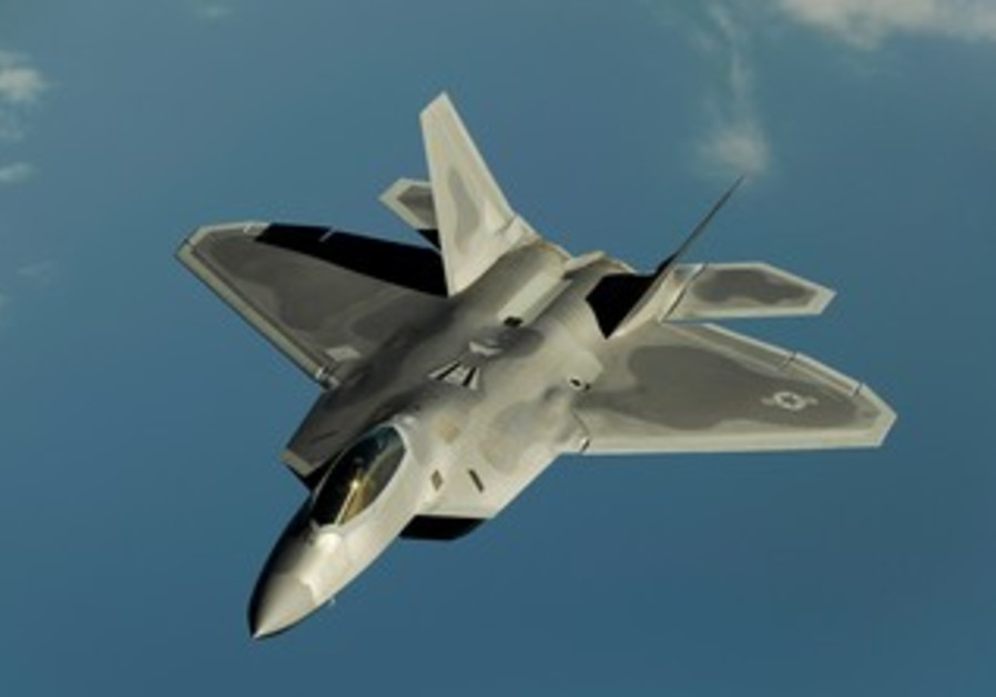 USAF's F 22 Raptor fighter jet