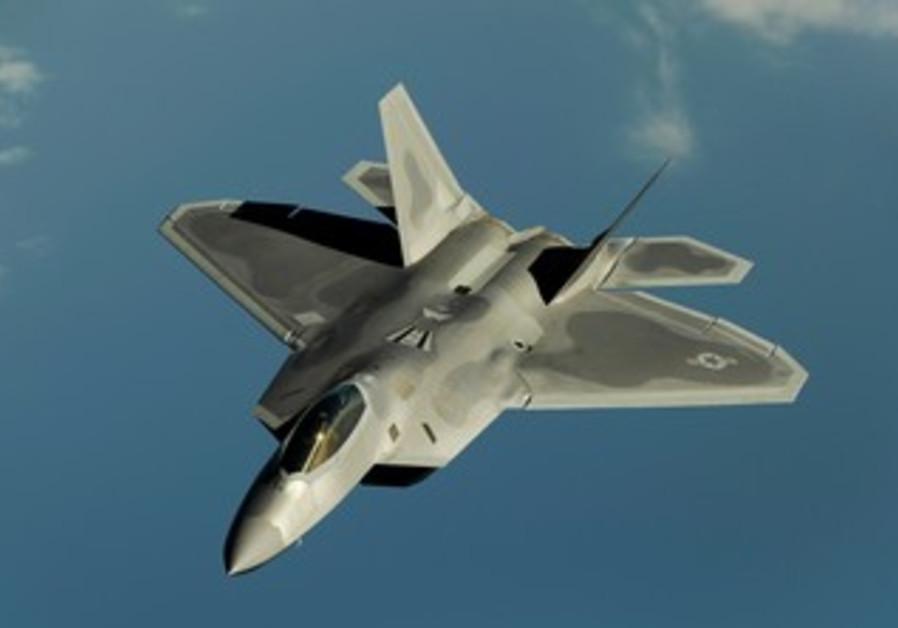 USAF's F 22 Raptor fighter jet