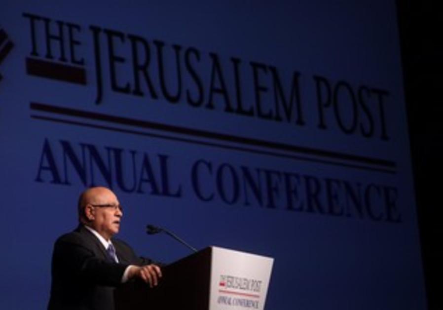 Meir Dagan at Jerusalem Post Conference