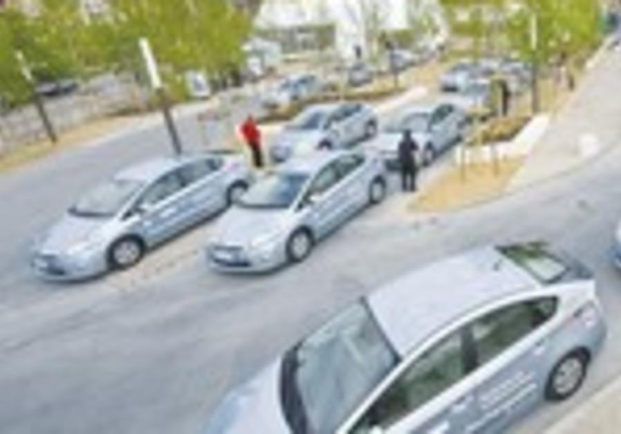 Toyota Prius cars [illustrative]