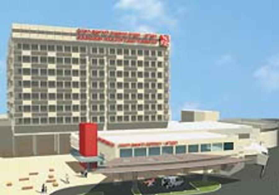 Haifa Hospital begins building work