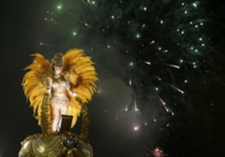 'Samba flood' as Brazil carnival comes to close