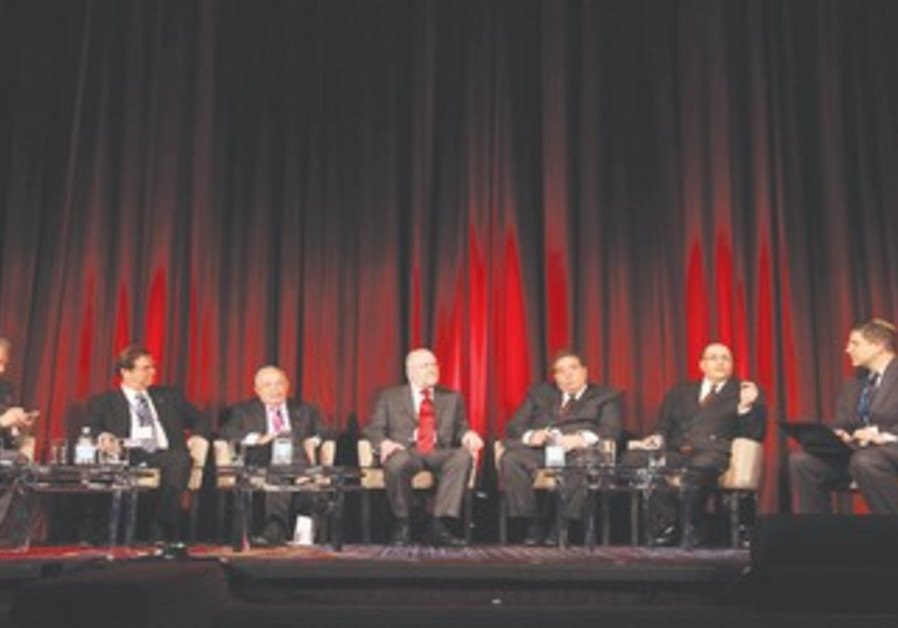 Panelists from Jerusalem Post Conference
