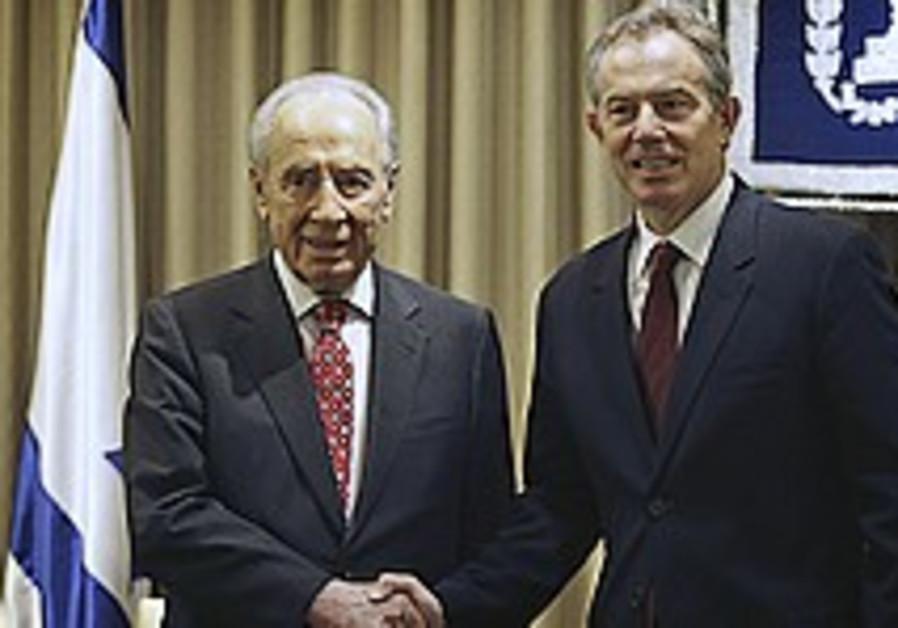 Blair: PA economy boost will advance peace
