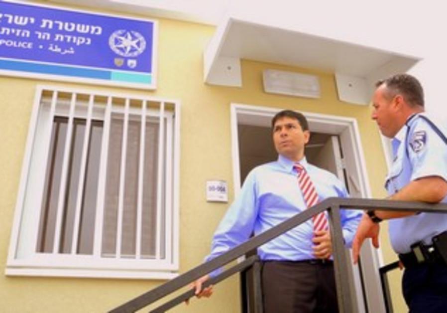 MK Danny Danon, Police's David Hayon Mt of Olives