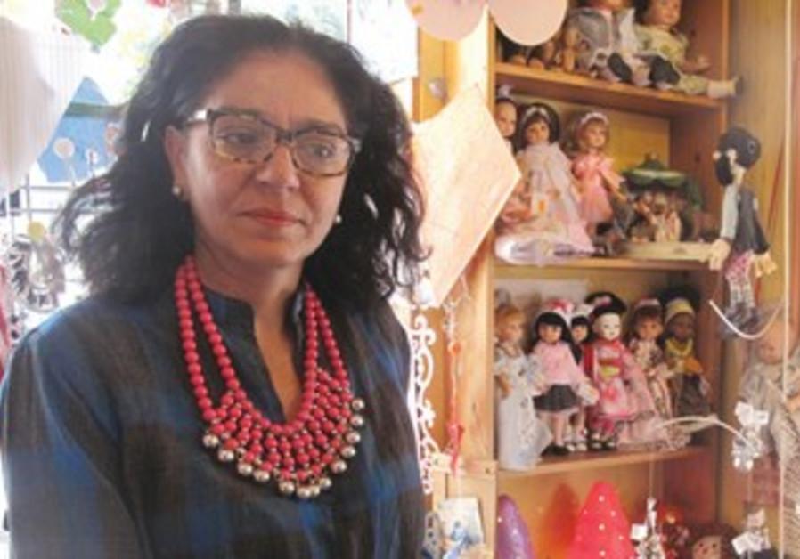 Tel Aviv toy store owner Eti Doron
