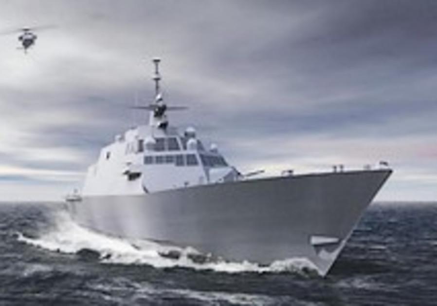Israel Navy bids for advanced warship