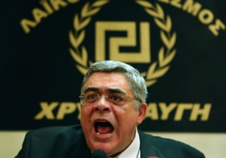 Greece's Golden Dawn leader Nikolaos Mihaloliakos