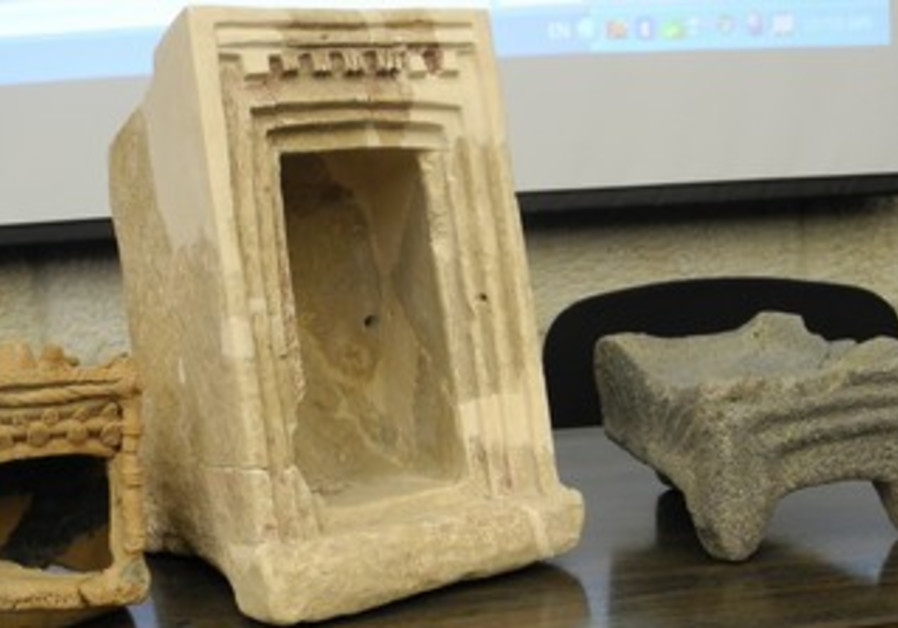 Ritual objects discovered at Khirbet Qeiyafa