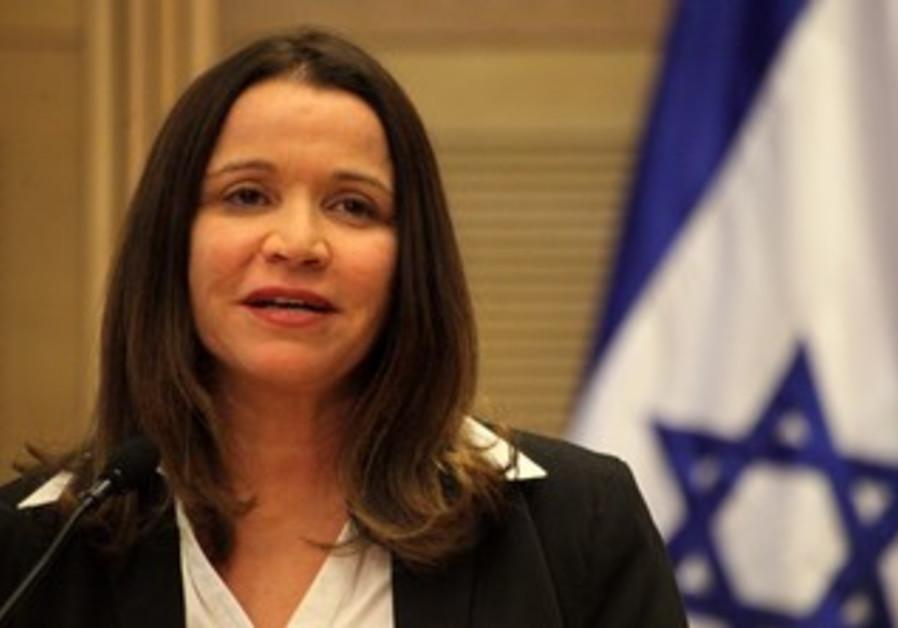 Labor chairwoman Shelly Yacimovich