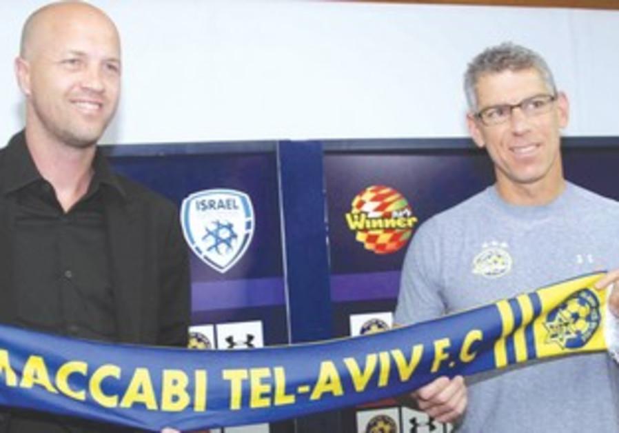 Mitch Goldhar and Jordi Cruyff