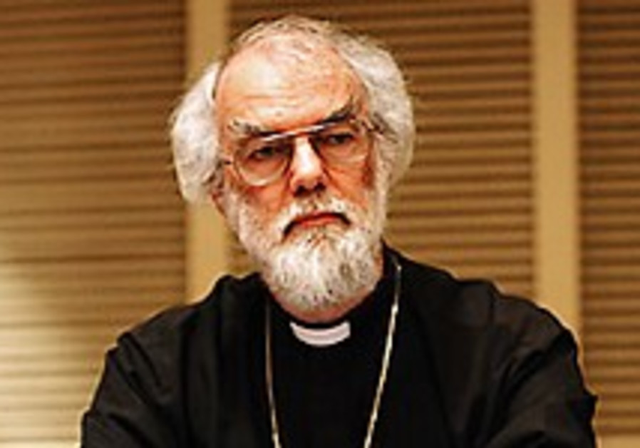 Archbishop faces church Synod over Shari'a comments