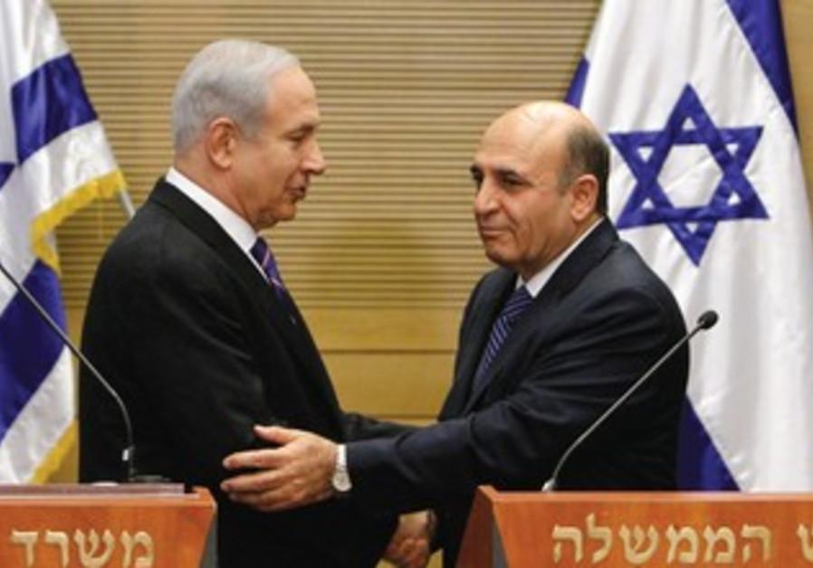 Netanyahu, Mofaz announce deal