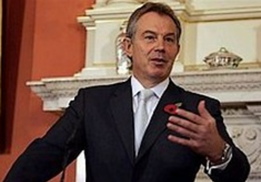Blair: Two state solution the only way to peace