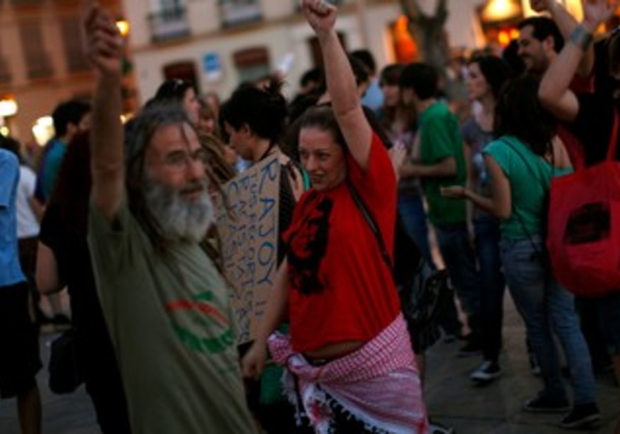 1-year anniversary of Spain's Indignados movement