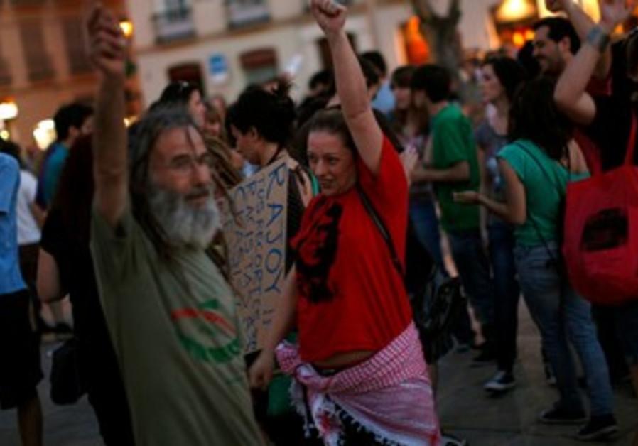 1-year anniversary of Spain's Indignados movement