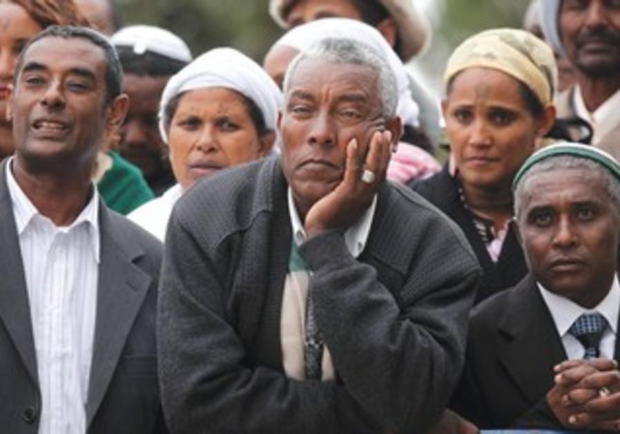 Ethiopian Jews celebrate Sigd holiday [file photo]
