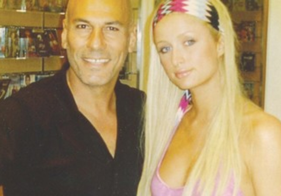 HAIRDRESSER MARCEL Reboh with Paris Hilton
